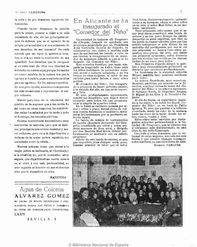 """En Alicante se ha inaugurado el """"Comedor del Niño"""""""